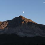 Moon over Wynn Mountain