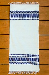 Traditional Towel Red Table Runner Ethnic Home Decor Hand Woven