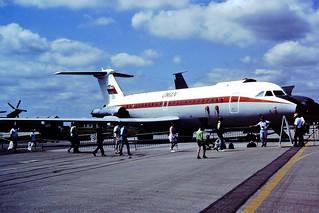 551 BAC1-11 Oman Fairford 22-07-91