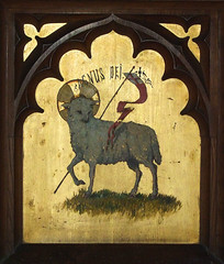 altarpiece: the Lamb of God (early 20th Century)