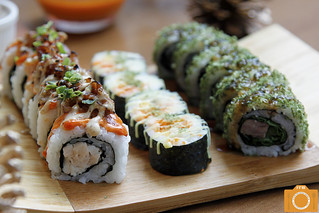 High Street Cafe maki rolls | by foodreviewsmanila