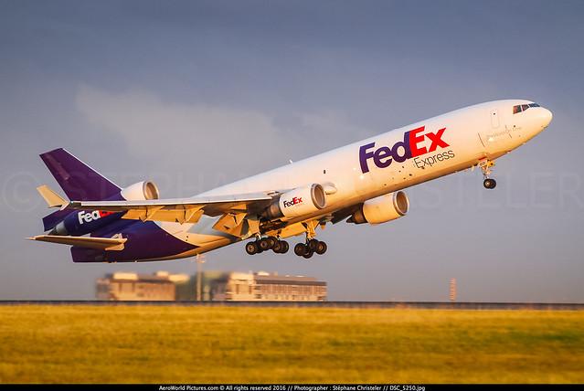 [CDG.2009] #Fedex #FX #McDonnel.Douglas #MD11F #N601FE #First.MD11.built #awp