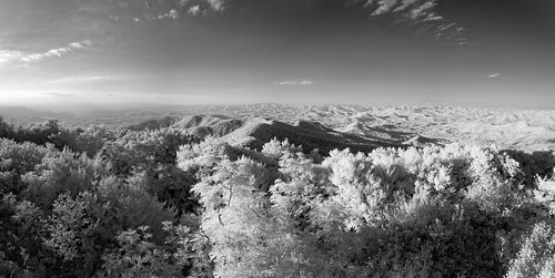 bw blackandwhite edrosack features georgia ir infrared landscape mountain panorama sky terrain tree usa vacation weather clear explore edrosackcom
