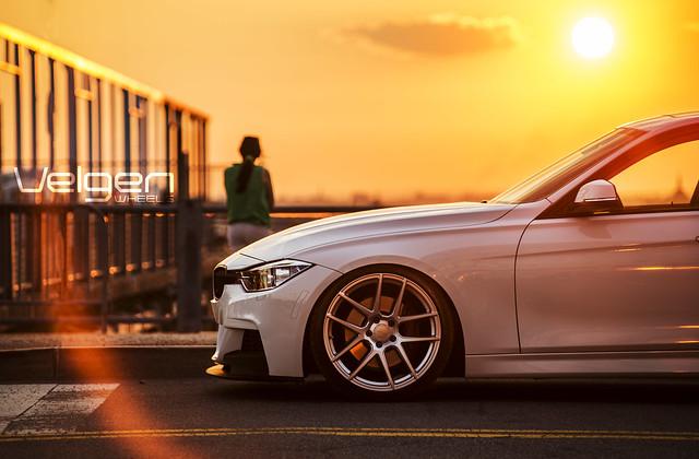BMW F30 on Velgen Wheels VMB5