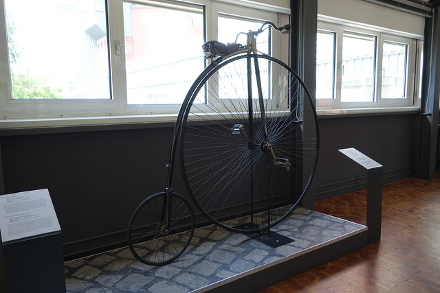 High Wheel bicycle from 1886