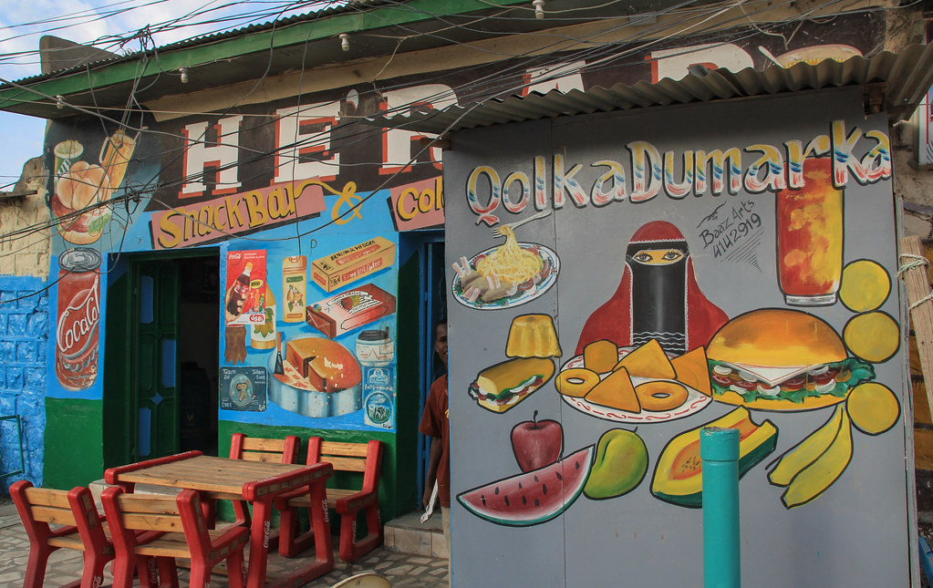 Restaurant Shop Painting