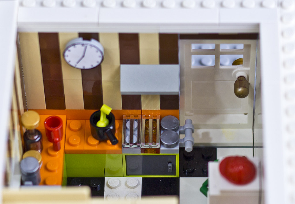 The Lego Movie Emmet S Kitchen Emmet S Kitchen Which We Flickr