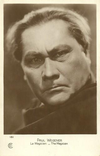 Paul Wegener in The Magician (1926)