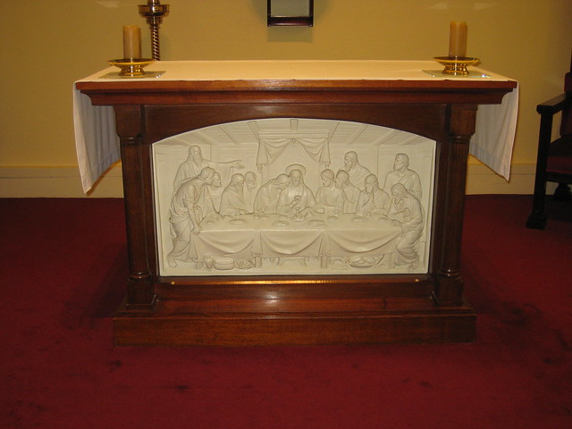 The Altar in the Chapel of the Former Parade College - Victoria Parade, East Melbourne