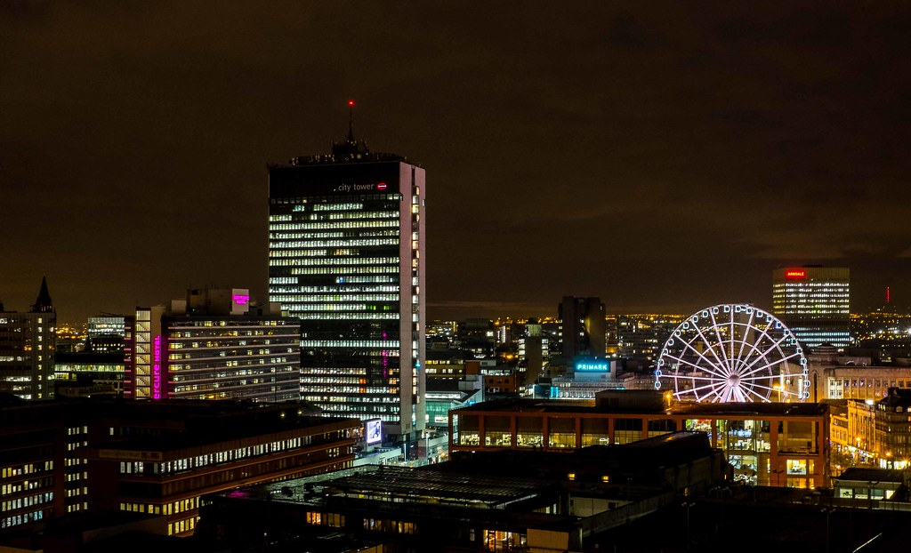 Manchester at Night   Manchester City Centre at night. view …   Flickr