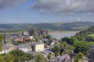 Conwy - View from Town Walls