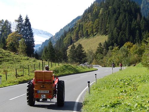 Grossglockner Strasse - oude traktor