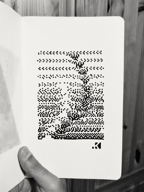 Rapid sketch on moleskine
