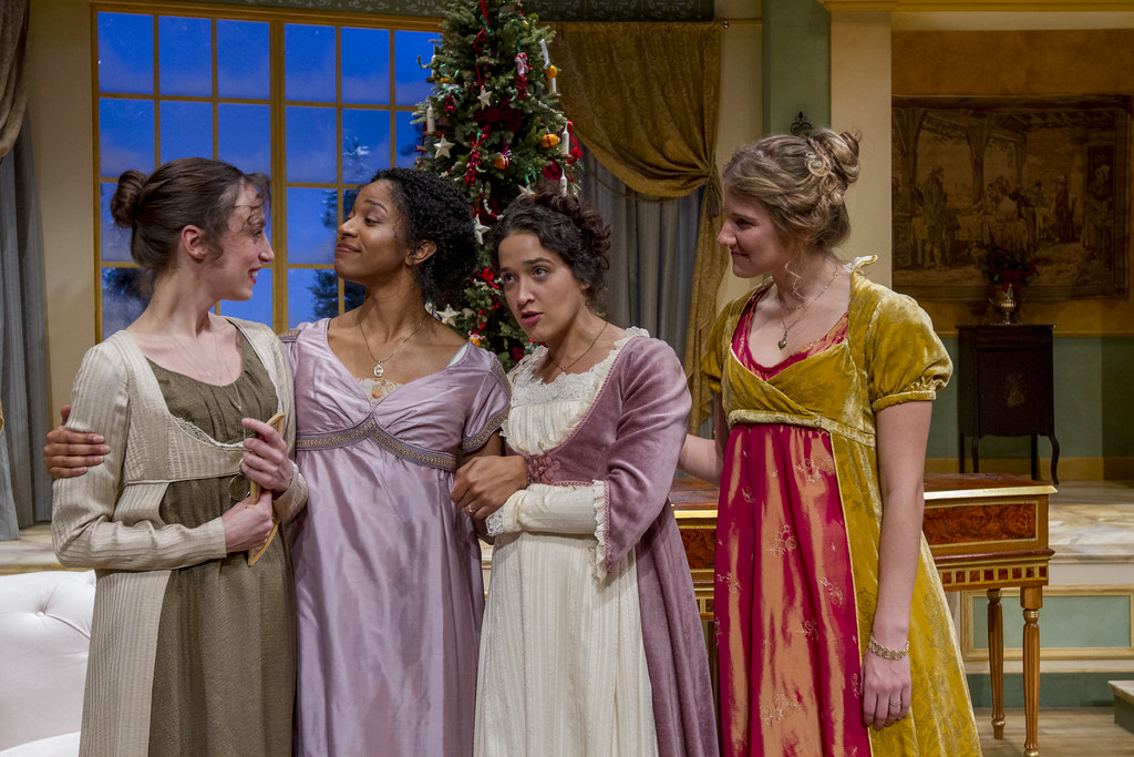 Christmas At Pemberley Manor Cast.Northlight Theatre Miss Bennet Christmas At Pemberley