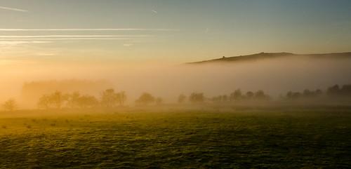 longshawestate derbyshire inversion mist november overowlertor mothercap