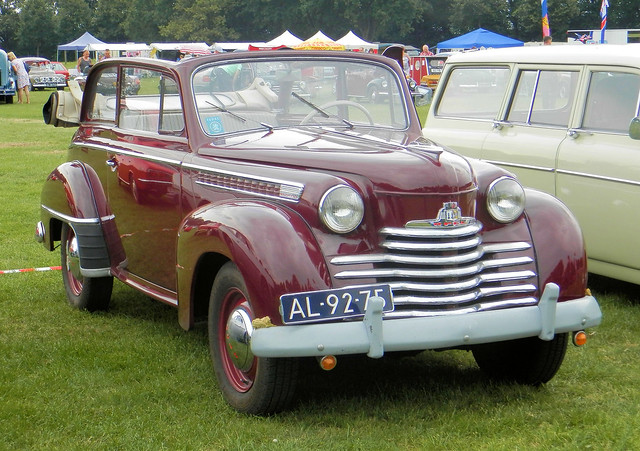 1951 Opel Olympia Cabriolet