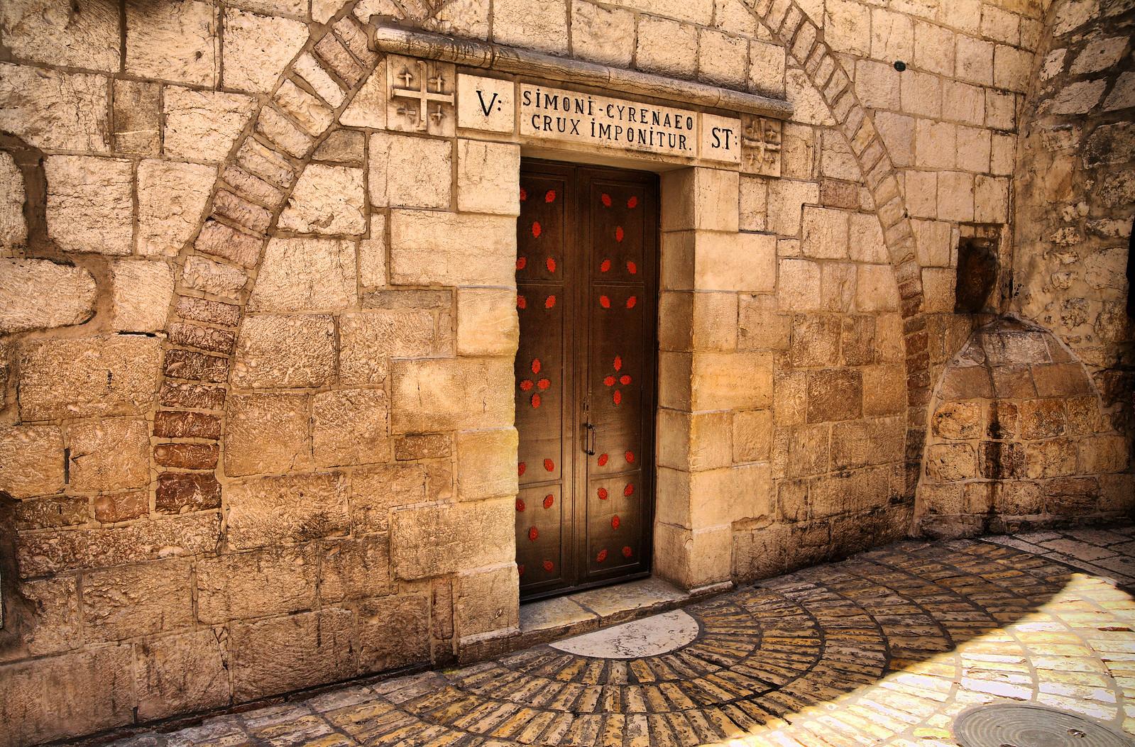 Jerusalem_Via Dolorosa_Station 5 (1)_Noam Chen_IMOT