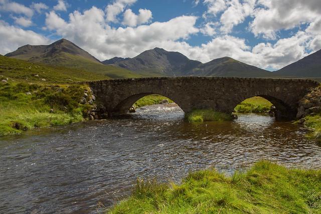 Kinloch Ainort River, Skye.