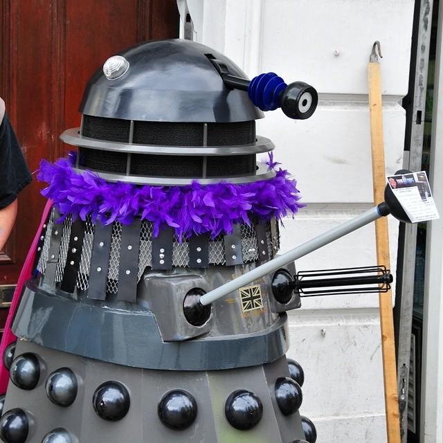 CELEBRATE! (One proud #Dalek).
