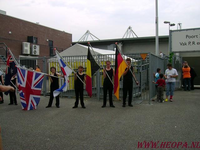 2007-07-16 Startbewijs op halen en vlaggen parade. (33)