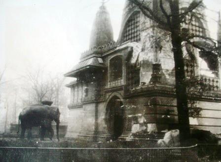 SIAM en el zoo de Berlin tras el bombardeo