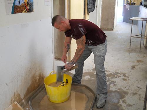 Intensive Plastering Course 04.08.2014 02 | Participants ...