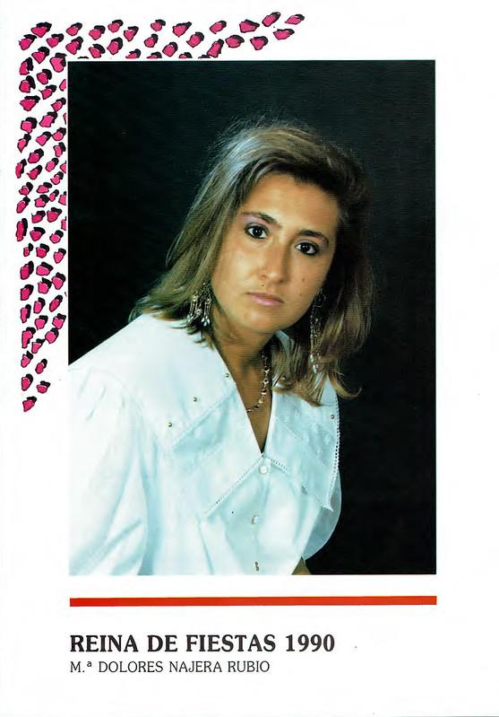 Programa Fiestas de San Lorenzo Año 1990