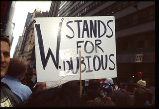 Anti War Protests - New York City - February 15th 2003 - Protesting War in Iraq