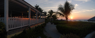 Sunset from the restaurant | by dmahr