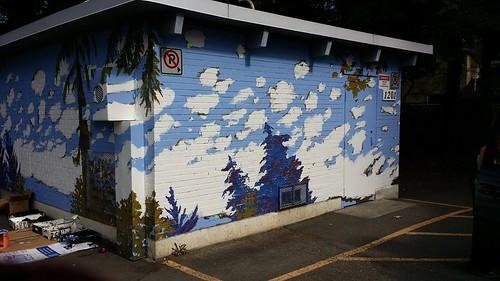 Puntledge Park Washroom Mural