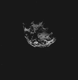 Comet on 7 September 2014 NavCam montage   by 2di7 & titanio44