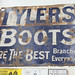 Tylers Boots Sign € 250