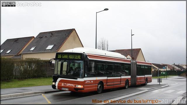 Irisbus Agora L GNV - Setram (Société d'Économie Mixte des TRansports en commun de l'Agglomération Mancelle) n°780