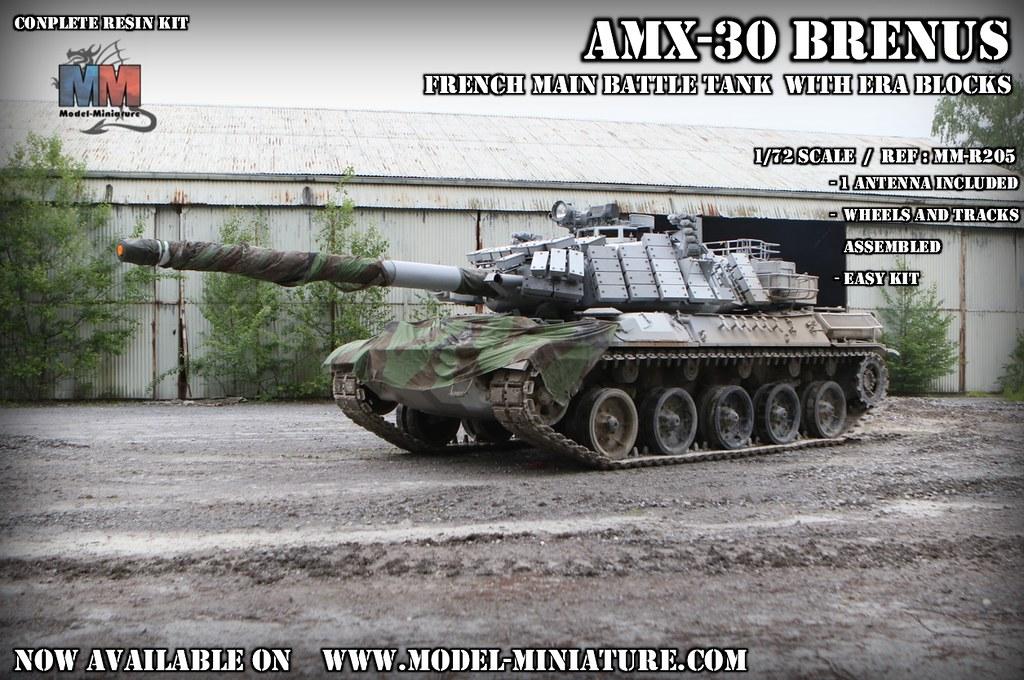 AMX30 BRENUS in 1/72 scale | Available on www model-miniatur