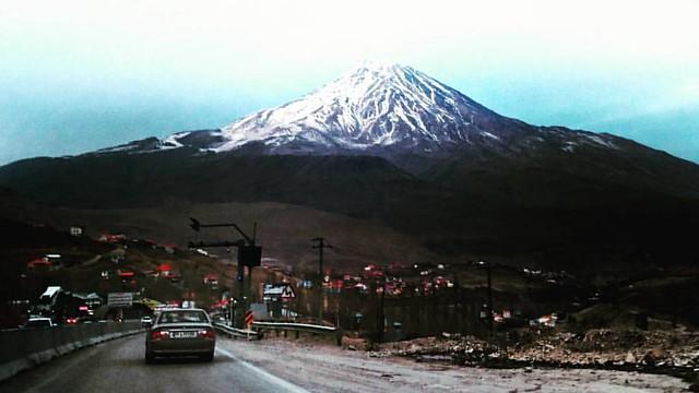 دماوند، آتشفشانی خاموش ? Damavand peak, the smoking volcano  جاده هراز، محدوده پلور  ? Gear: Mobile Phone (Sony Z5) ? Camera Software: Preinstalled Camera ? Enhancement Software: Instagram filter (Juno)  #natur