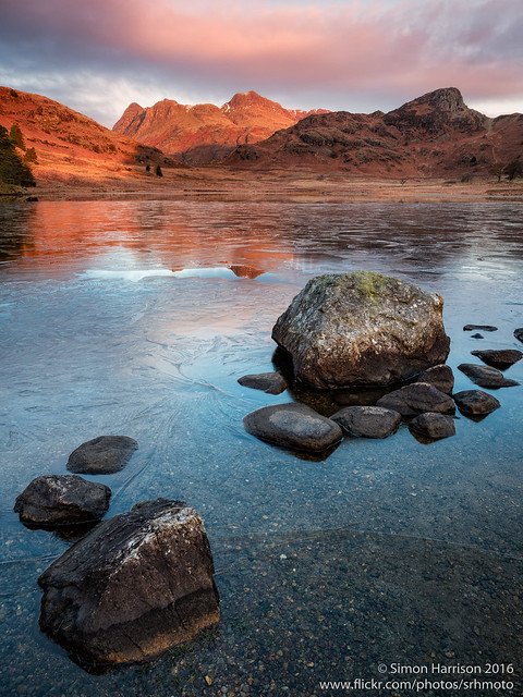 Blea Tarn Winter Dawn