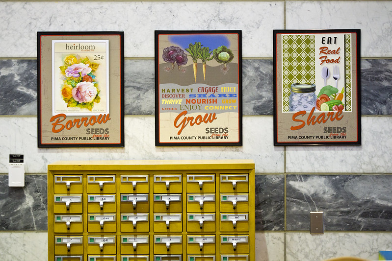 Seed Library 2013 - Joel D. Valdez Main Library