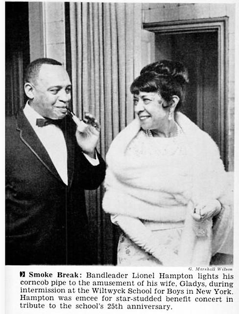 Lionel Hampton and Wife Gladys - Jet Magazine, May 28, 1964