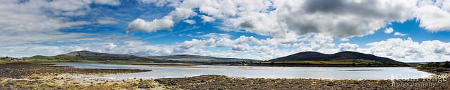 Panorama on Rine Peninsula, Clare