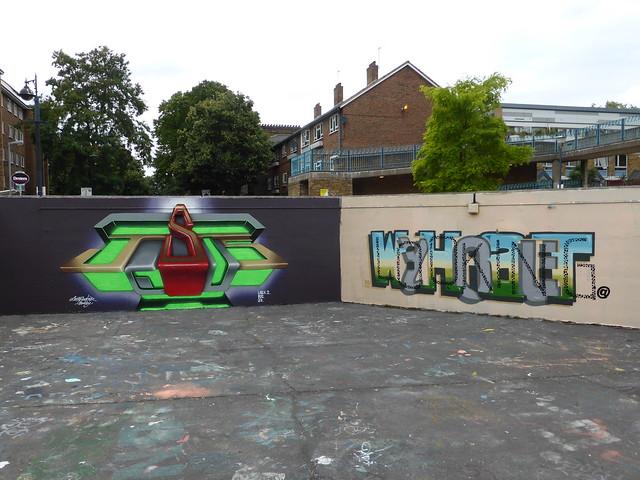 LovePusher + Pref graffiti, Stockwell