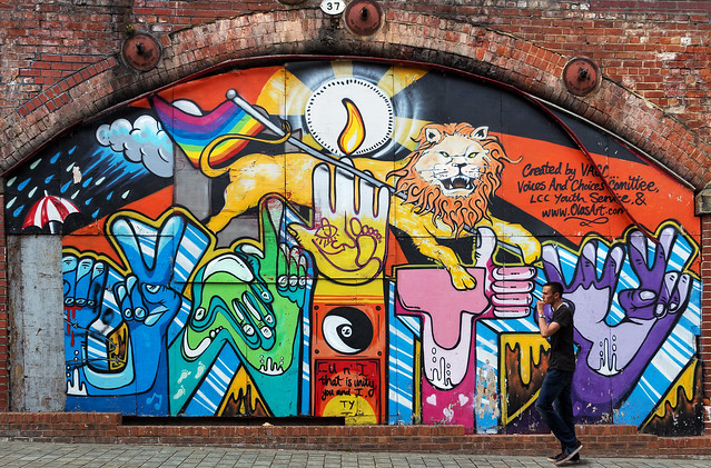 Bridge 37 street art