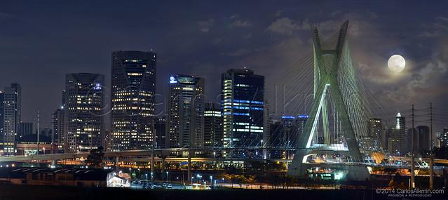 Supermoon of August 10, 2014 - Sao Paulo-Brazil