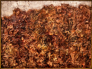 Paysage ardent - Jean Dubuffet - mars 1952