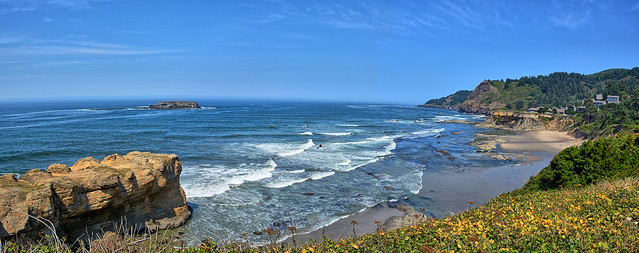 Oregon Coastline at Otter Rock