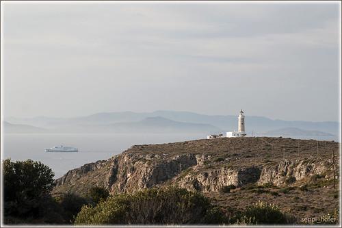lighthouse island insel greece griechenland leuchtturm elafonissos elafonisos kythira kythera moudari