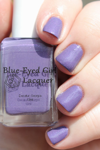 Blue Eyed Girl Lacquer Just Admiring Your Skills, Sweetie | by ThePolishMonster