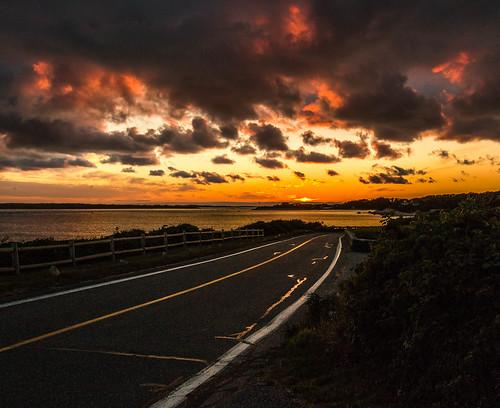 sunset capecod massachusetts falmouth nobska vineyardsound