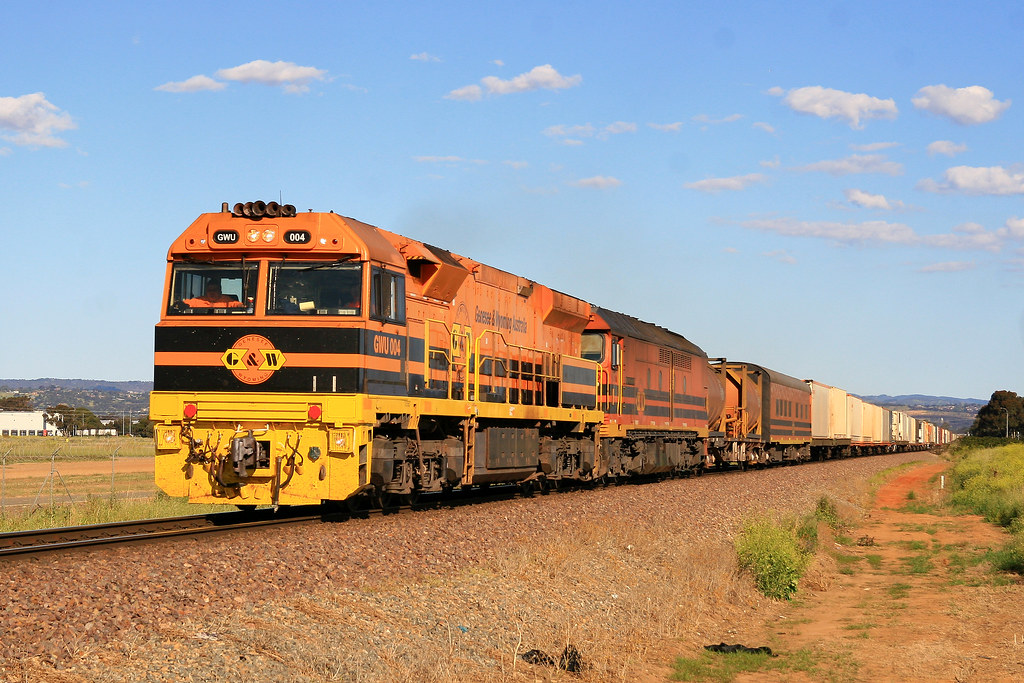7AD1 GWU004 & ALF18 by Trackside Photography Australia