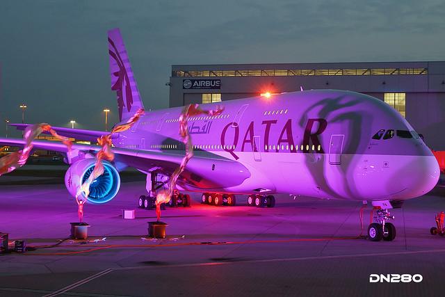 Qatar A380-861 msn 137