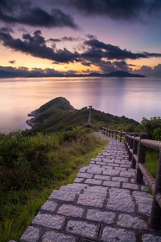 sea seascape sunrise canon landscape hongkong dawn 香港 afterglow 長洲 5dmarkii